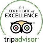 תעודת מצוינות מטעם TripAdvisor